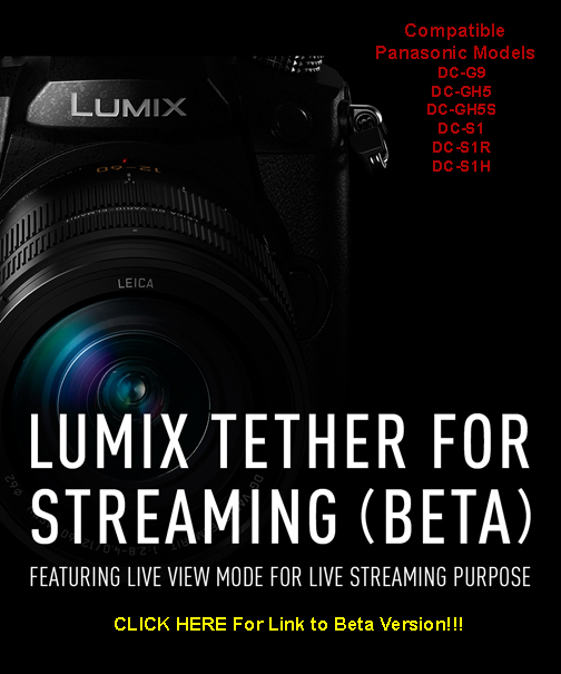 Panasonic Live Streaming Link