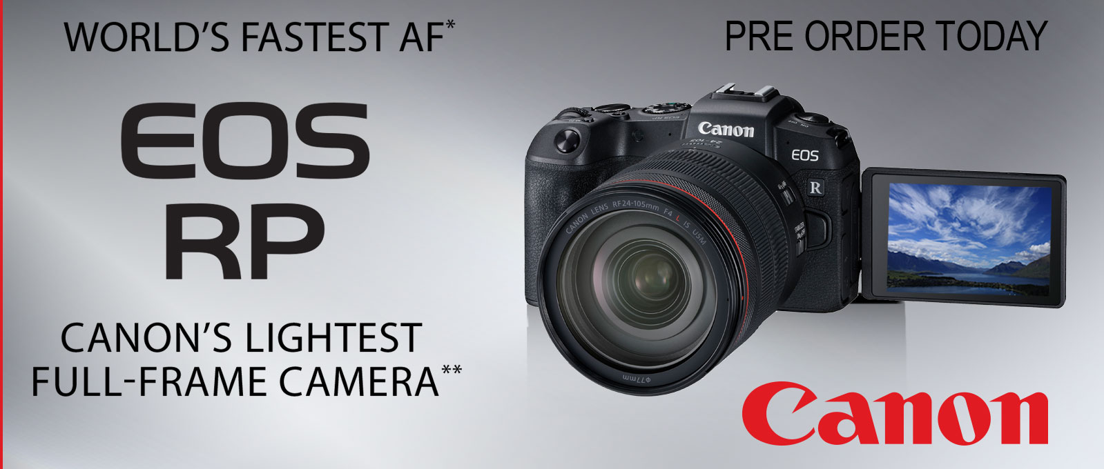 Canon RP Mirrorless System