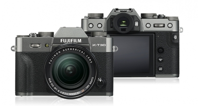 FUJIFILM X-T30 CHARCOAL/SILVER WITH 18-55MM LENS