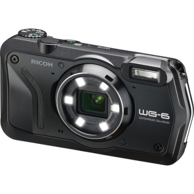 RICOH WG-6 BLACK ALL WEATHER WATER PROOF CAMERA