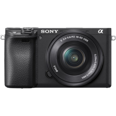 SONY A6400 WITH 16-50MM LENS KIT BLACK