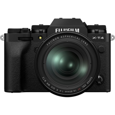 FUJIFILM X-T4 BLACK 16-80MM LENS KIT