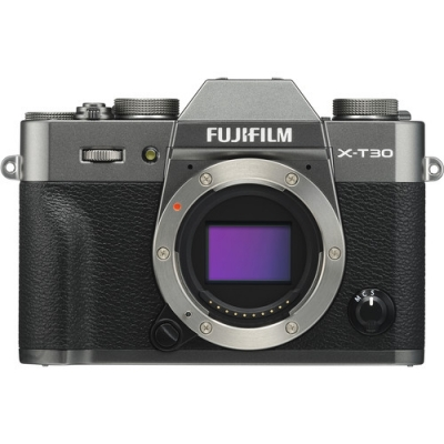FUJIFILM X-T30 BODY ONLY CHARCOAL/SILVER