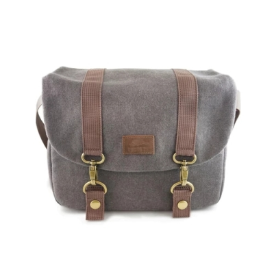 ROOTS MIRRORLESS FLANNEL MESSENGER BAG