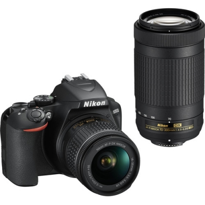 NIKON D3500 WITH 18-55MM & 70-300MM AFP LENS