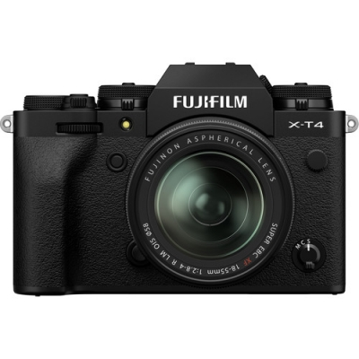 FUJIFILM X-T4 BLACK 18-55MM LENS KIT