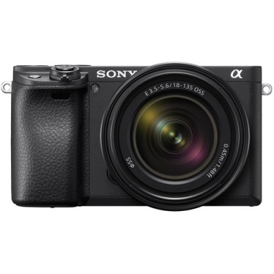 SONY A6400 WITH 18-135MM AND 55-210MM TWO LENS KIT BLACK