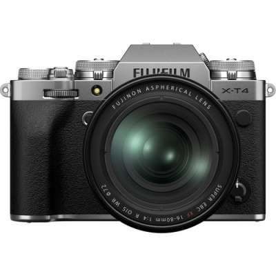FUJIFILM X-T4 SILVER 16-80MM LENS KIT