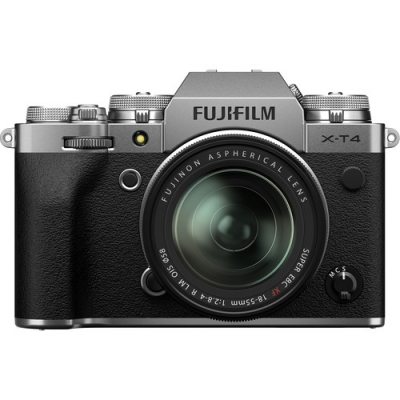FUJIFILM X-T4 SILVER 18-55MM LENS KIT