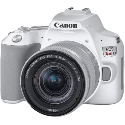 CANON EOS SL3 WITH 18-55MM KIT WHITE EDITION