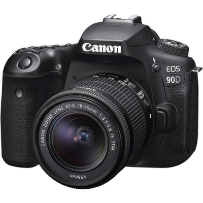 CANON EOS 90D WITH 18-55MM LENS KIT