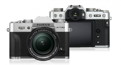 FUJIFILM X-T30 SILVER KIT WITH 18-55MM LENS